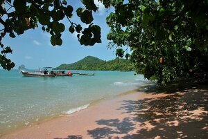 На пляже Ко Яо Яй